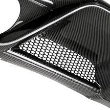 2015 2018 mustang shelby gt350 carbon fiber turn signal bezels