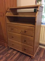 Baby Change Table Ikea Gulliver Changing Table Ikea Solid Pine Baby Changing Unit In