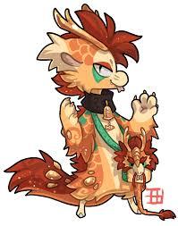 475 mythical bagbean chinese dragon griffsnuff deviantart