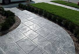 michigan stamped concrete patios design installation concrete