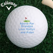 personalized callaway golf balls above par sport leisure gifts