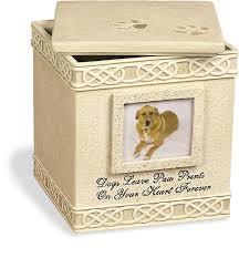 urns for pets angelstar 6 inch pet urn for dog home kitchen