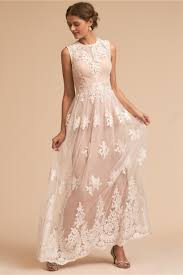 dress for wedding party malcolm dress ivory blush in bridal party bhldn