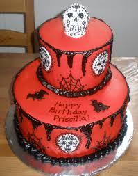 cakes perla sugar skull birthday cake