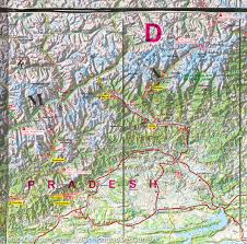 Himilayas Map Hiking Map In The Indian Himalaya Terraquest U2013 Mapscompany