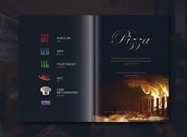 menu design for italian restaurant in japan on behance