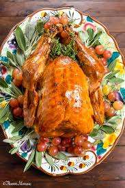 roast turkey with apple cider brine flavor mosaic