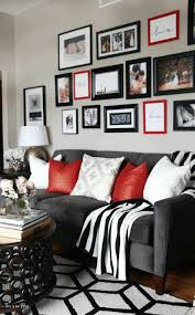 Red Round Coffee Table - comfy black davenport sofa black and white striped blanket classy