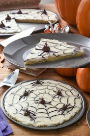 hershey u0027s halloween spiderweb cookie pizza cookie pie spider