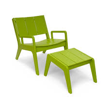 Recycled Plastic Furniture Outdoor Lounge Chair Made From Recycled Plastic Loll Designs