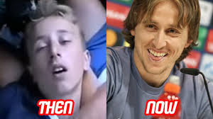 before and after hair styles of faces luka modric transformation then and now face hair style teeth