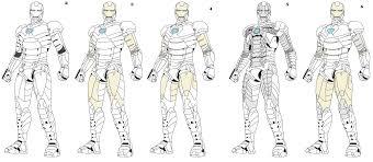 iron man mark lineart by naruttebayo67 on deviantart