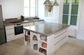 plan de travail cuisine beton beton cire plan de travail cuisine beton cire sur carrelage de