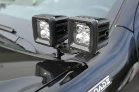 Led Light Bar Mounts Dodge Ram Exterior Led Light Bars U0026 Mounts Zroadz Led Mounting Brackets