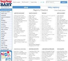 baby gift registry list baby registry checklist template business