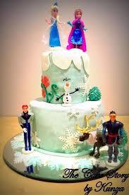 Christmas Cake Decorations Frozen by 26 Best 2014 Halloween Frozen Elsa Cake Images On Pinterest Elsa