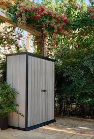 Backyard Storage Ideas by Decorating 4 X 6 Kketer Shed In Grey And Ivory For Outdoor