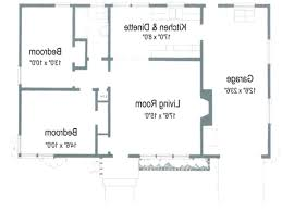 home design 2 bedroom bath attached house plan simple two plans