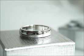 silver band sterling spinner ring silver band sterling silver band ring