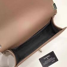 pelle vacchett le boy medio classic flap borsa in pelle di vacchetta albicocca