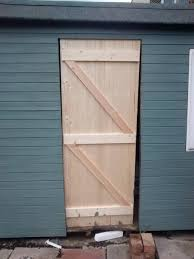 Hanging A Frame by Hanging A New Shed Door On A Frame That Is Not Level Home