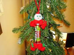 my gave me this handmade lifesavers ornament which she