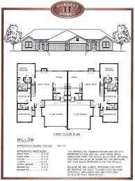 100 one story duplex house plans four bedroom duplex house