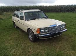 mercedes owners uk 1984 mercedes w123 estate 300td 2 owners low for sale on car