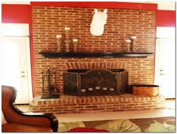 80 classic brick fireplace ideas the urban interior the fireplace demands no installation whatsoever thus perfect for those who don t have any male house members or people not knowledgeable enough in fixing