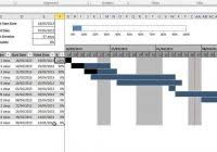 free excel gantt chart template download within gantt chart free