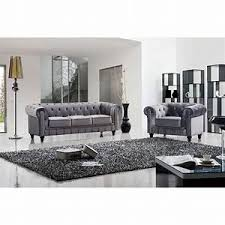 canap chesterfield gris canapé chesterfield velours canap chesterfield 3 places velours