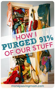 how i purged 91 of our stuff declutter motivation and organizing