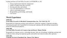 front desk resume sle resume template jk hotel manager front desk objective clerk sle