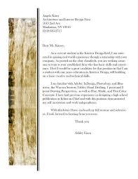 interior design cover letter internship mediafoxstudio com