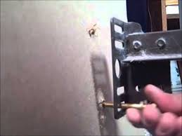 Headboard Wall Mount Hardware by How To Install A Headboard Youtube