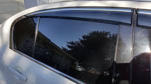 jdm oem lexus window visors new oem window visor replica looks better than hic acurazine