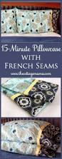 35 diy pillowcases you need in your bedroom today french seam