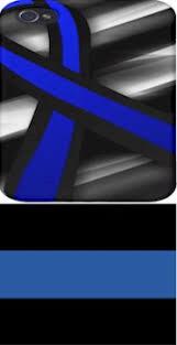black and blue ribbon officer blue stripe awareness ribbon golden openings