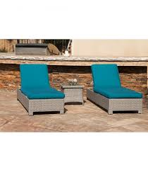 Blue Chaise Lounge Patio Furniture