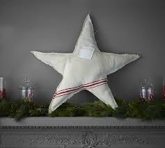 Pottery Barn Christmas Decorations 2015 by Found Grainsack Star U0026 Tree Pottery Barn