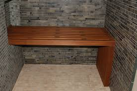 Bathroom Seating Bench Bathroom Bench Realie Org