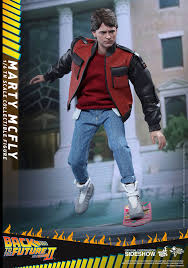 back to the future marty mcfly sixth scale figure by toy
