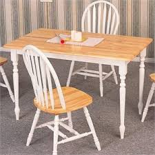 White Wooden Dining Table And Chairs Dining Tables Dining Room Tables Home Square Com