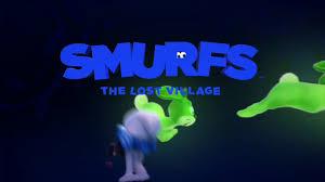 smurfs clumsy bunny scare