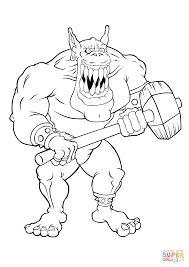 giant gremlin coloring page free printable coloring pages