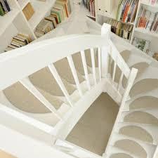 stufenmatten in beige auf weißen treppen new home - Stufenmatten Fuer Treppe