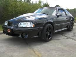 Black Mustang 2000 Cervini U0027s Mustang 2 In 2000 Cobra R Style Hood Unpainted 155