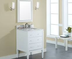 24 Vanities For Small Bathrooms by Manhattan 24 Inch Contemporary Bathroom Vanity White Finish