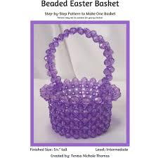 how to make a fruit basket beaded fruit basket beading pattern tutorial pdf