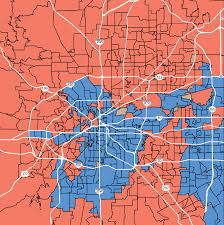 Dallas Suburbs Map by Tarrant County Remains Republican But Areas Are Divided In 2016